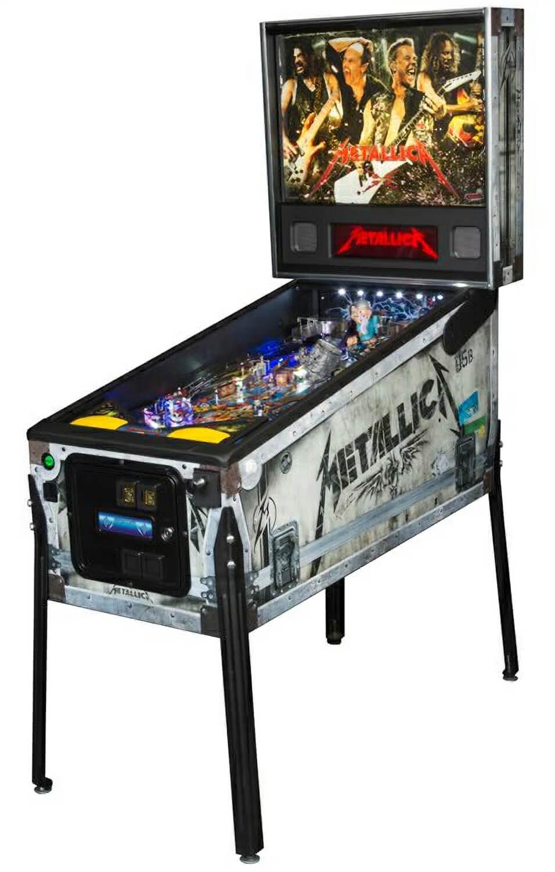 Stern Metallica Premium Pinball Machine Liberty Games