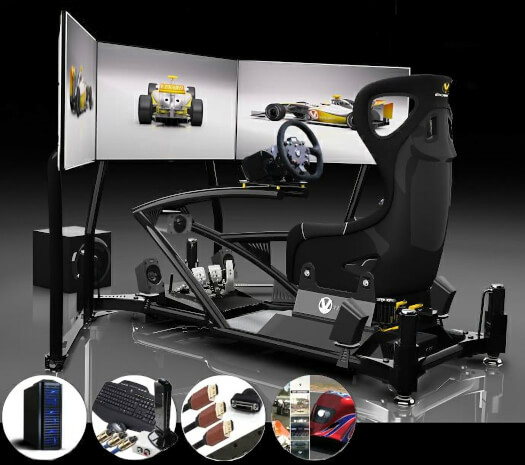 Vesaro Racing Simulator Stage 9 Package
