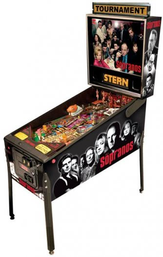 Stern The Sopranos Pinball Machine