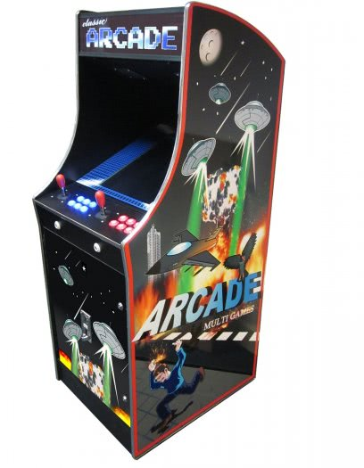 Cosmic II 412-in-1 Multi Game Arcade Machine