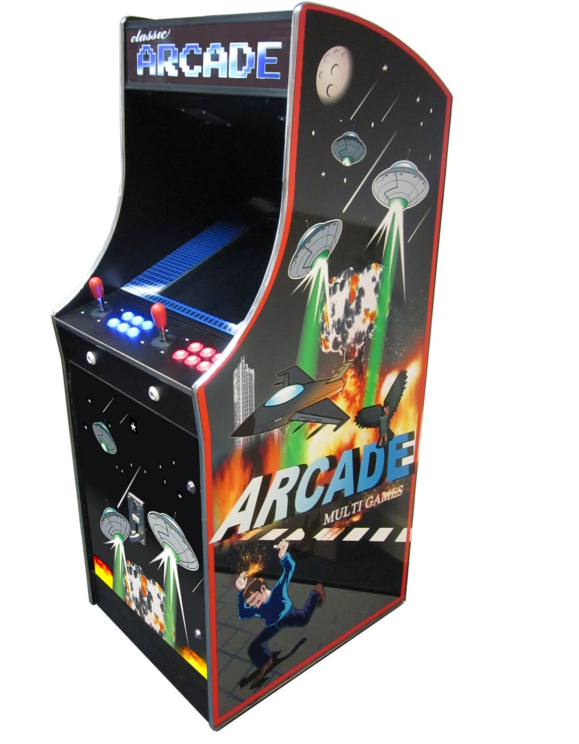Cosmic II 412-in-1 Multi Game Arcade | Liberty Games