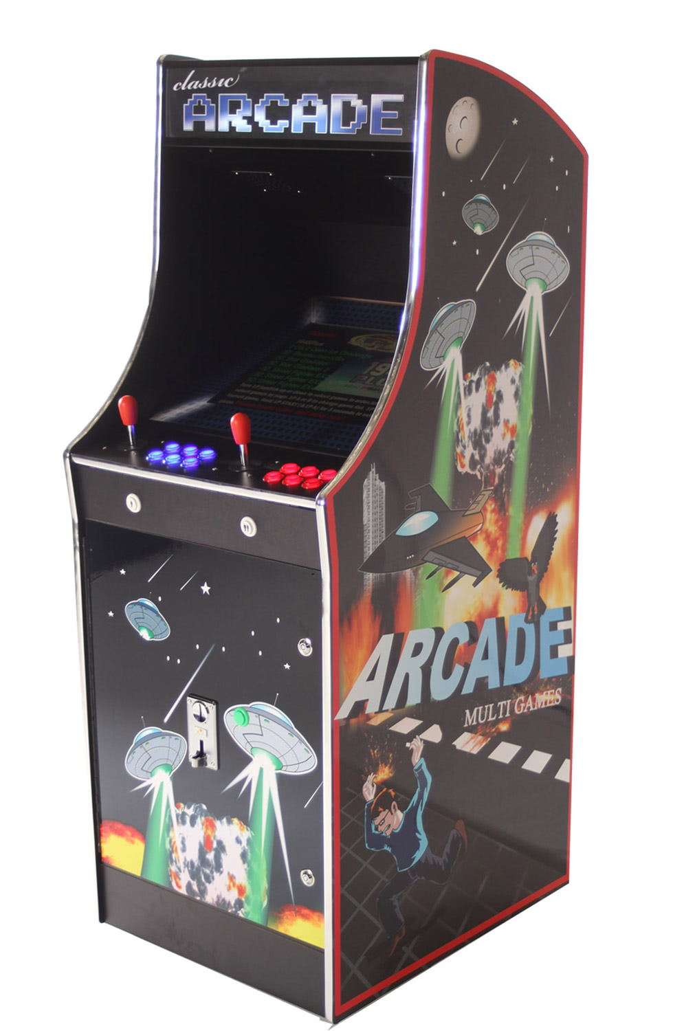 Cosmic III 2000-in-1 Multi Game Arcade Machine | Liberty Games
