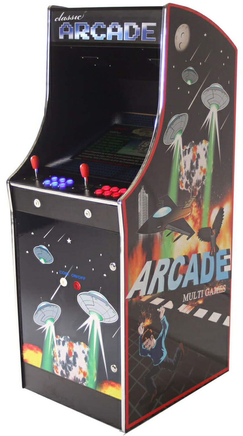 Cosmic Ultimate Multi Game Arcade Machine Liberty Games