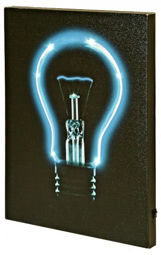 Blue Bulb LED Picture