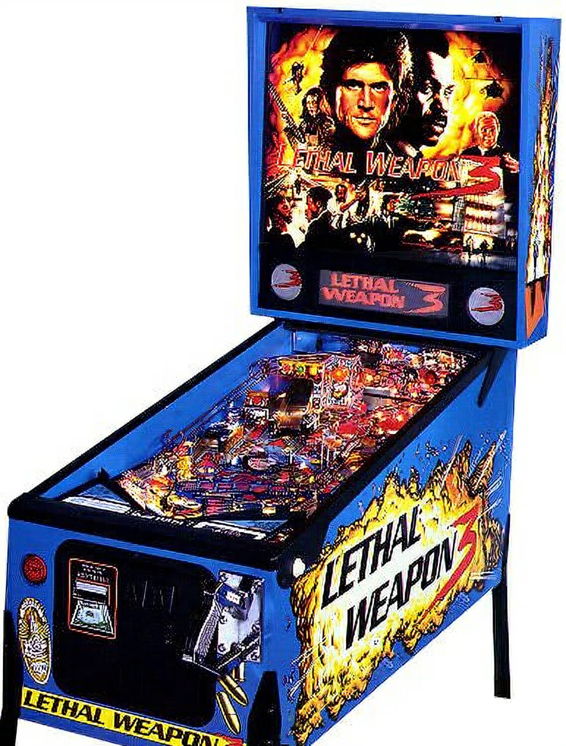 Lethal Weapon 3 Pinball Machine Liberty Games