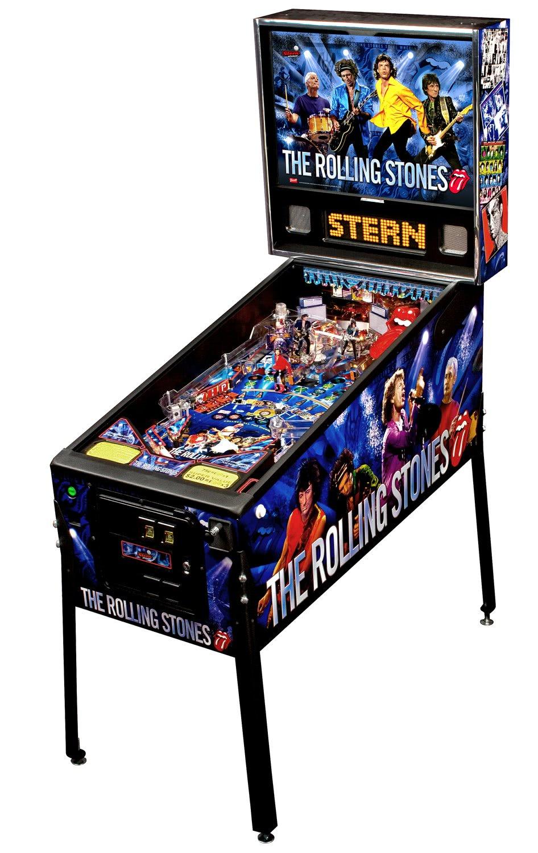 Stern The Rolling Stones Pinball Machine Liberty Games
