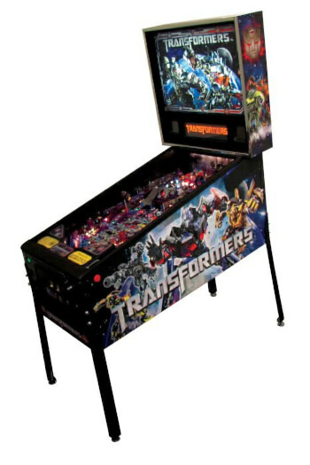 Stern Transformers Pinball Machine