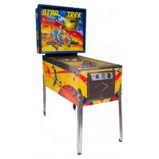 Bally Star Trek Pinball Machine