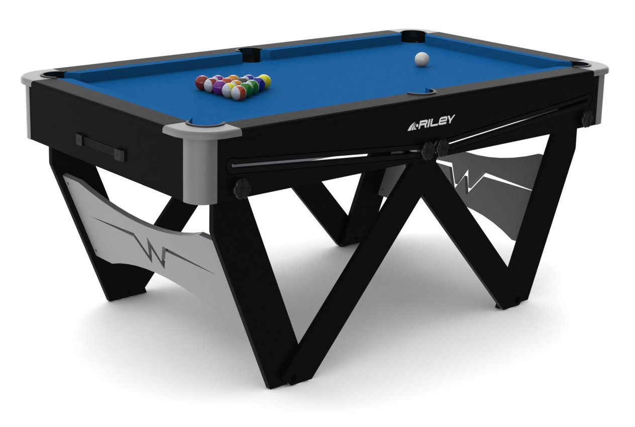 Riley 5 foot W Leg Folding Pool Table  FSPW 5