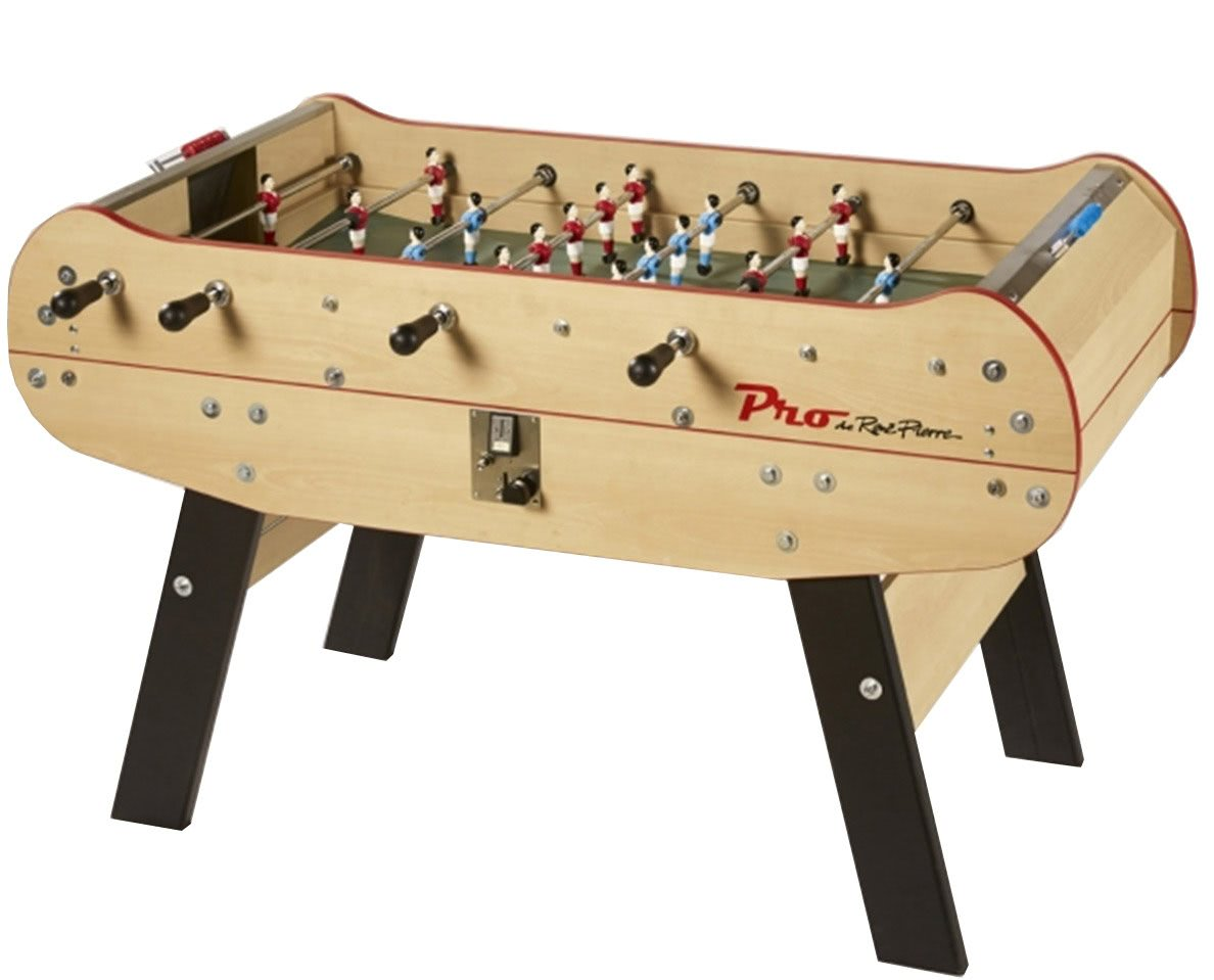 rene pierre baby foot pro coin operated football table. Black Bedroom Furniture Sets. Home Design Ideas