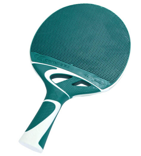 Cornilleau Tacteo 50 Turquoise Table Tennis Bat - (455405)