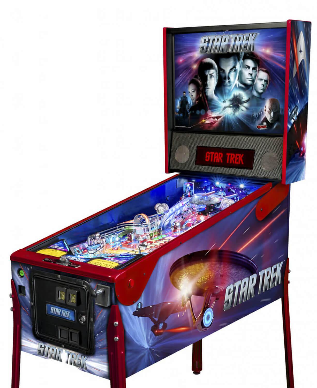 Stern Star Trek Premium Pinball Machine Liberty Games