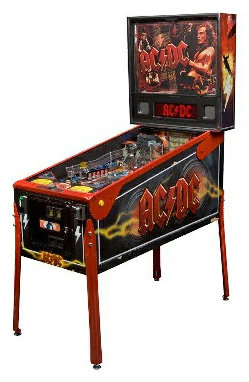 Stern AC DC Premium Pinball Machine Liberty Games
