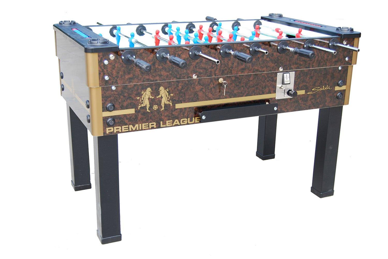 Sardi premier league coin operated football table for Premiership football table
