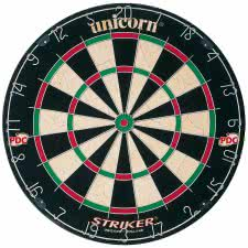 Unicorn Striker Bristle Dartboard (79383)