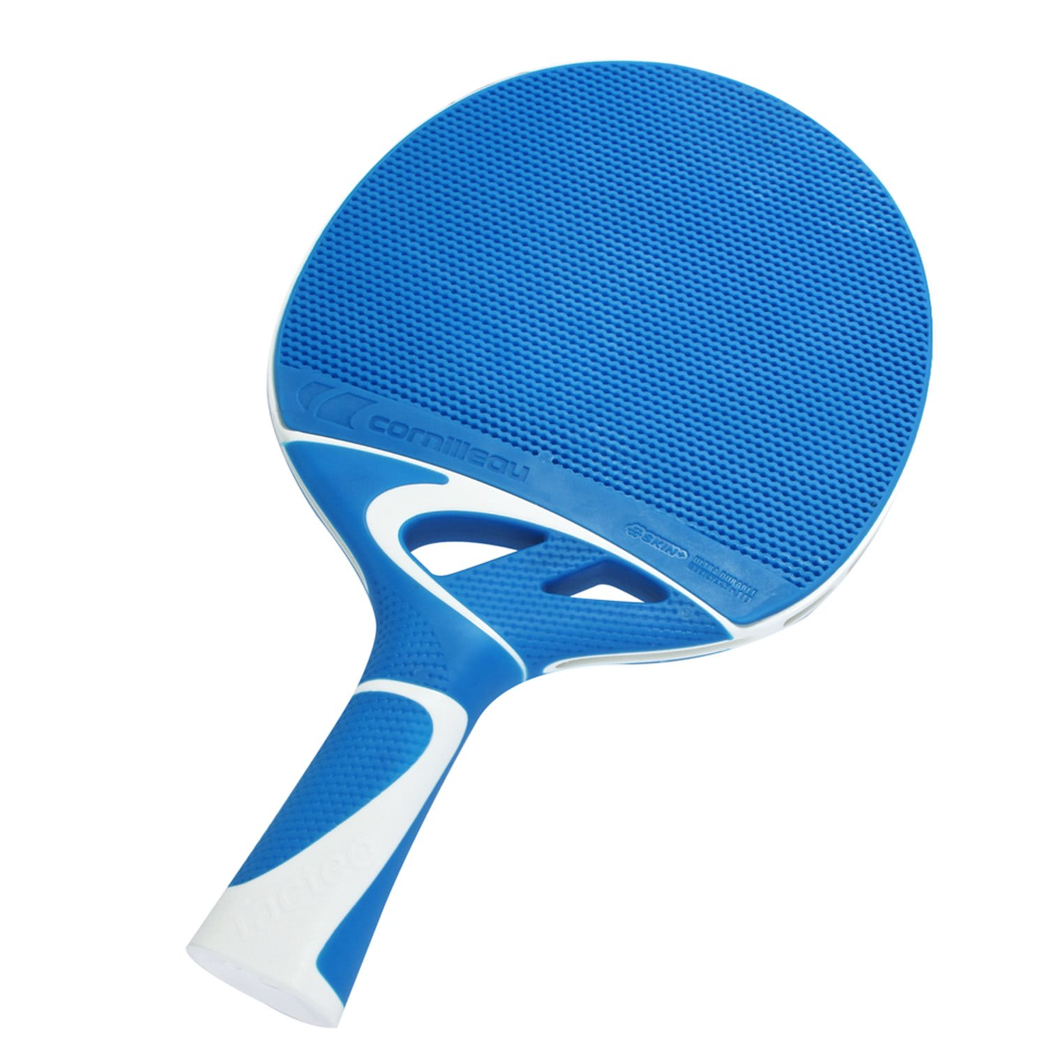 Cornilleau tacteo 30 blue schoolsport table tennis bat for Table tennis