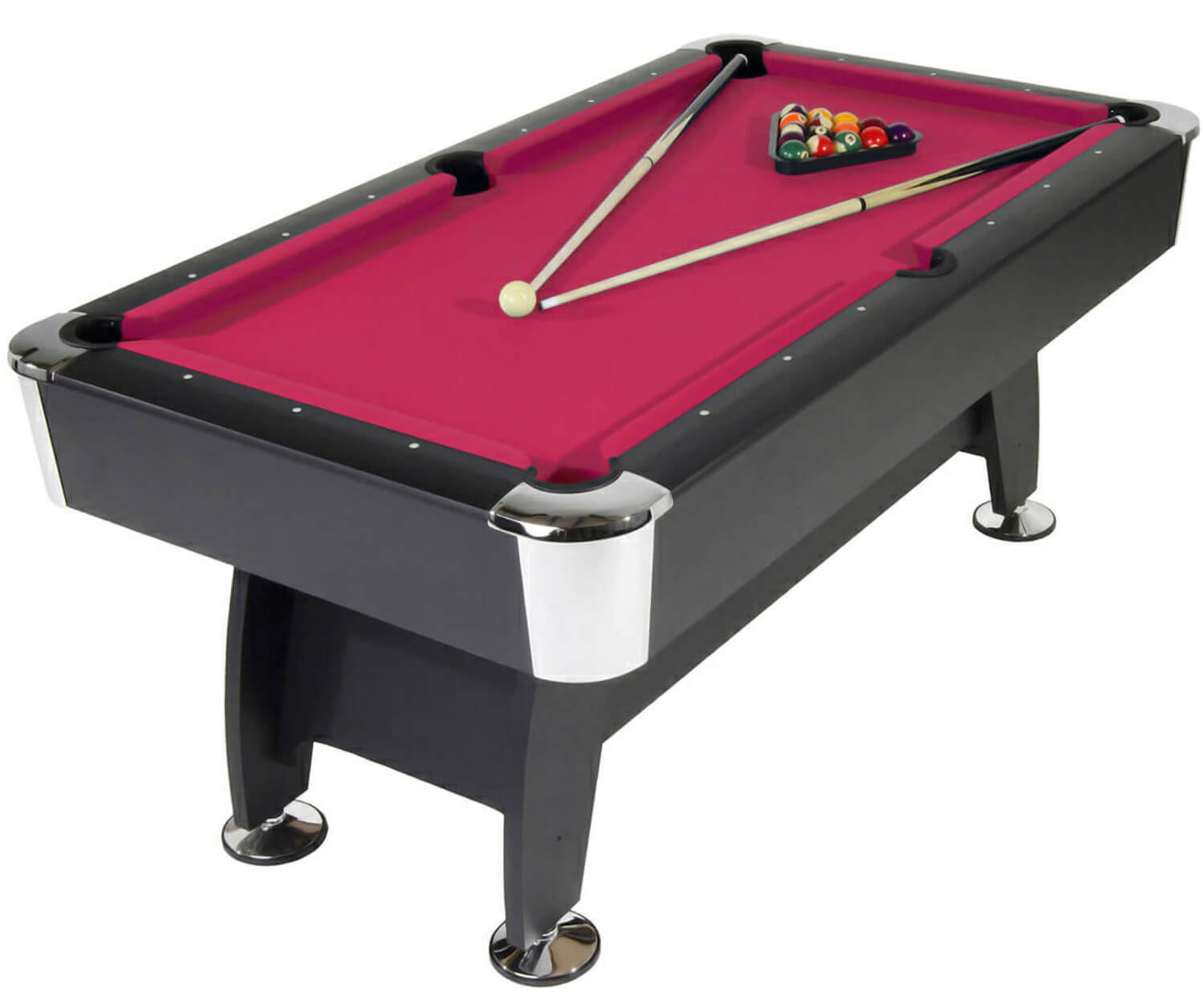 Strikeworth pro american deluxe 6ft pool table liberty games for 10 feet pool table