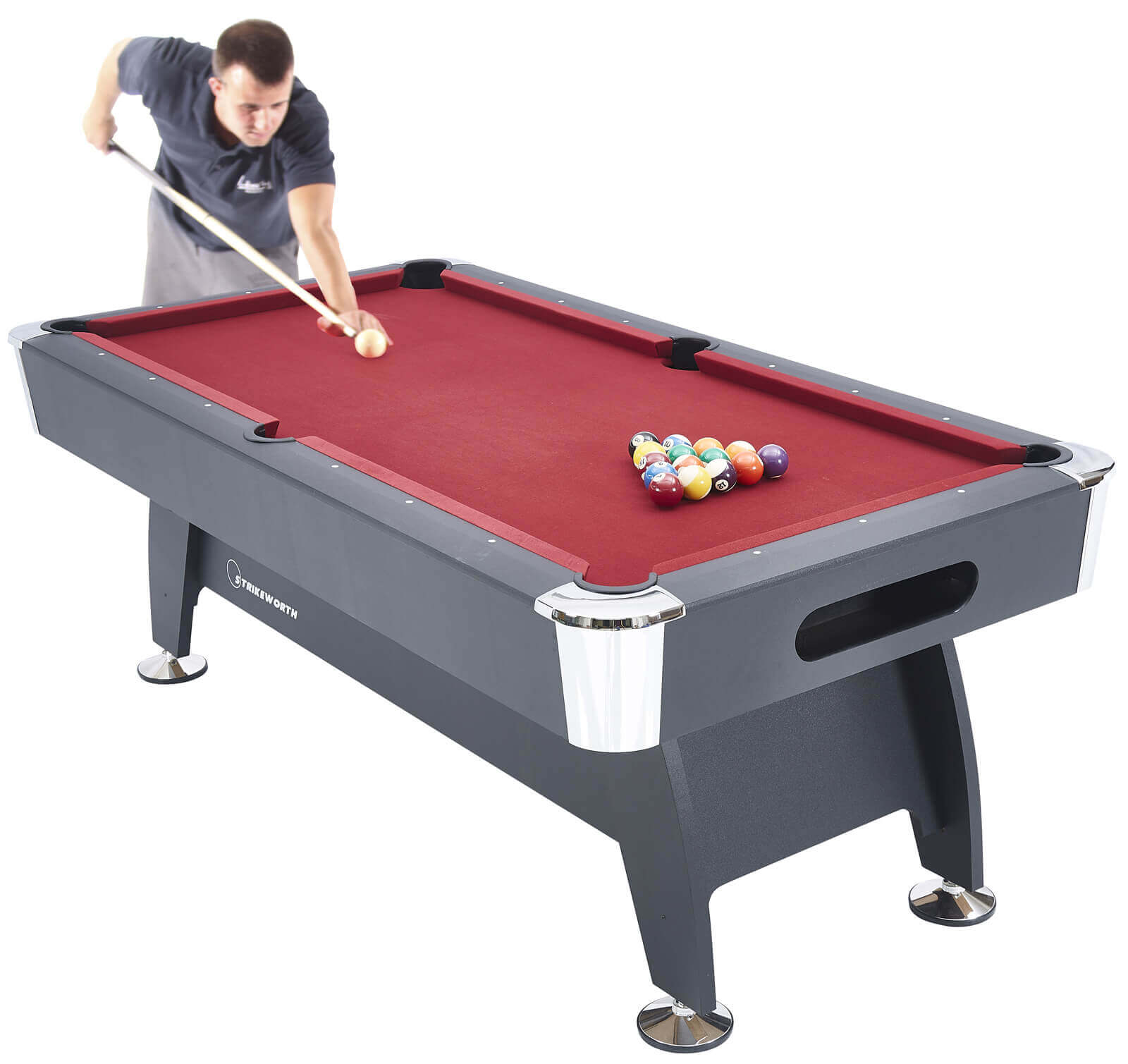 Strikeworth Pro American Deluxe 7ft Pool Table Liberty Games : 4957strikeworth pro american deluxe 7ft pool table from libertygames.co.uk size 1500 x 1421 jpeg 92kB