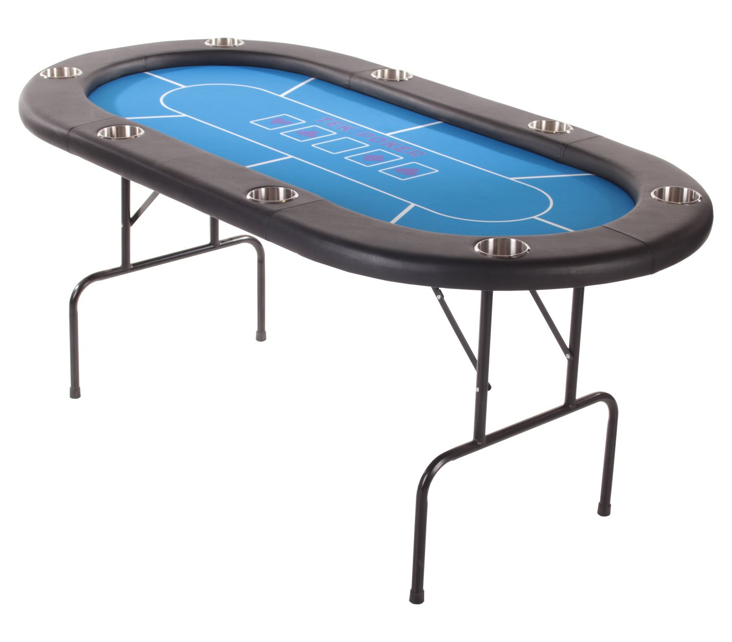 Tekscore Pro Folding Leg Poker Table Liberty Games