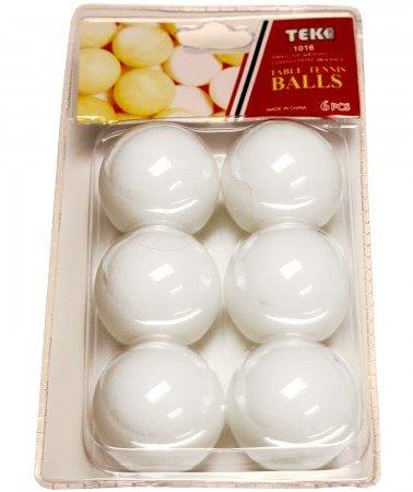 Tekscore pack of 6 1 table tennis balls liberty games for 1 gross table tennis balls