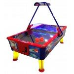 WIK Gold 6 Foot Commercial Air Hockey Table