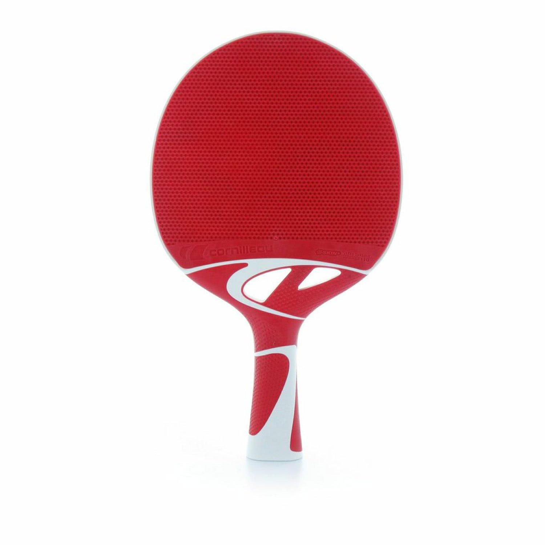 Cornilleau Tacteo 50 Red Table Tennis Bat 455407