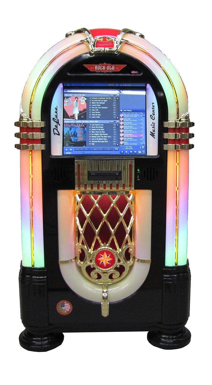 Rock Ola Gloss Music Centre Jukebox Liberty Games