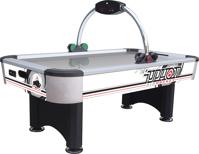 Buffalo typhoon air hockey table liberty games for Table hockey