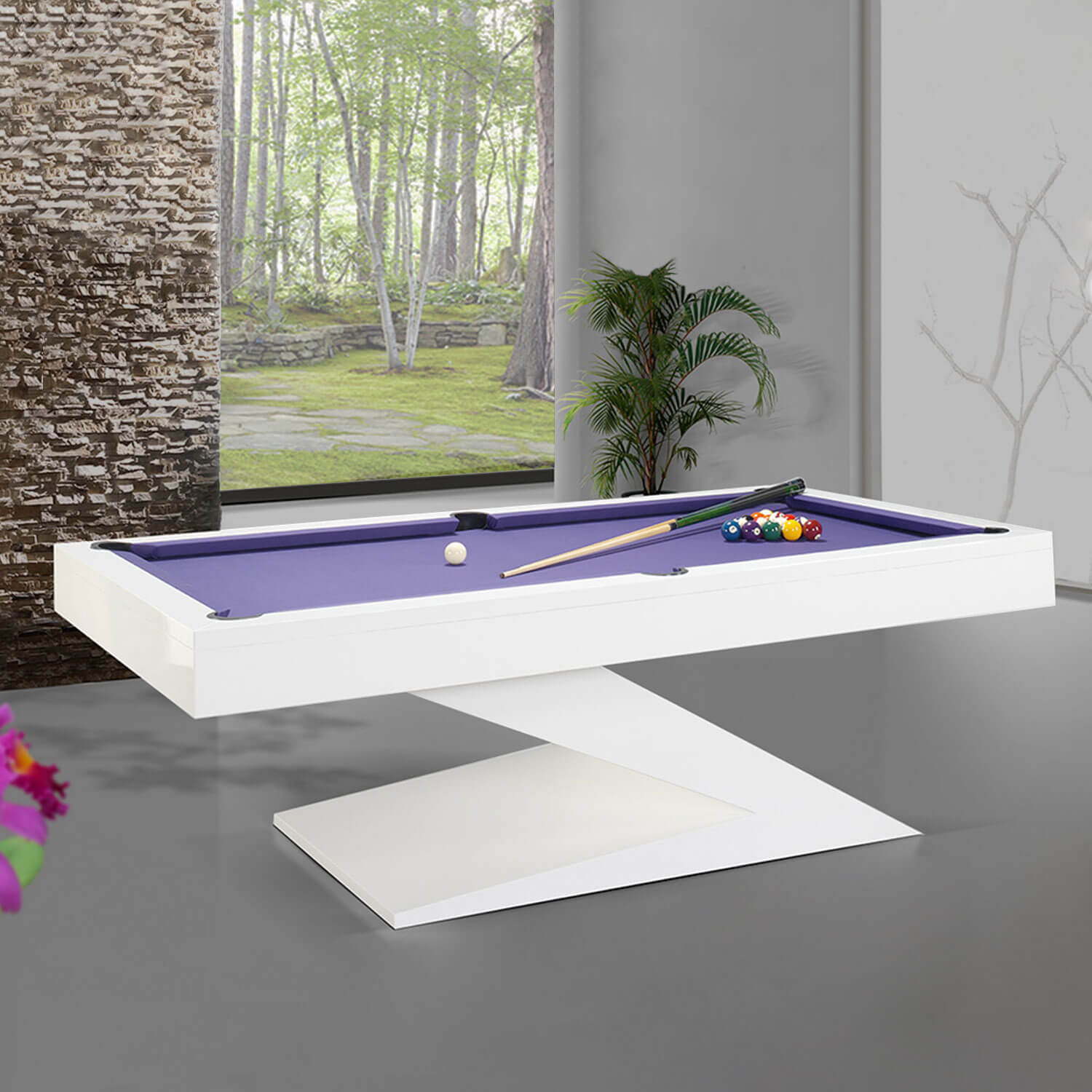 The Zen Slate Bed Pool Table Liberty Games