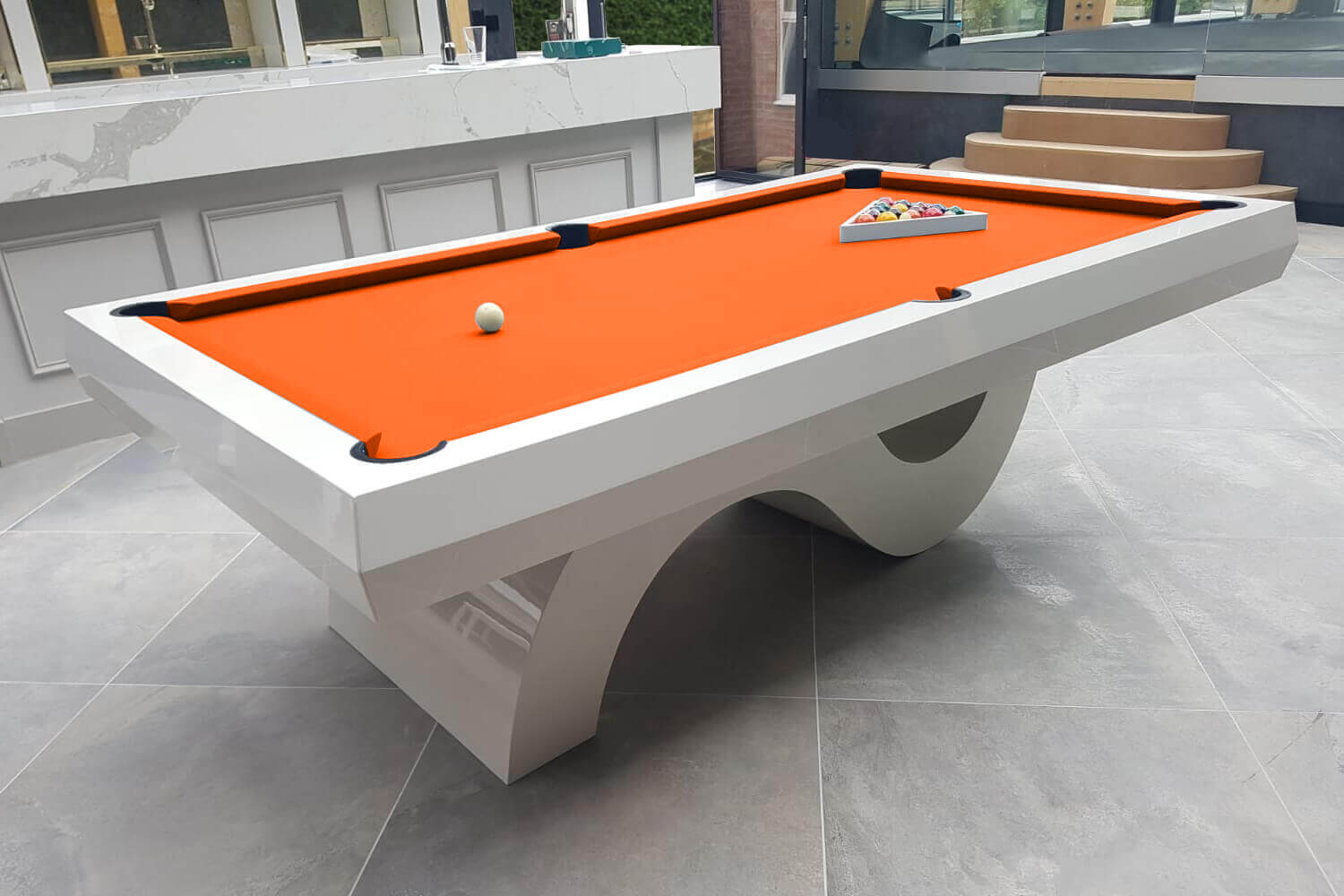 The Picasso Slate Bed Pool Table Liberty Games