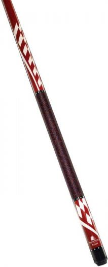 Powerglide Mizano Red English 57'' Two Piece Pool Cue