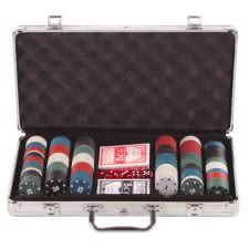 TekScore 300 Piece Poker Chip Set