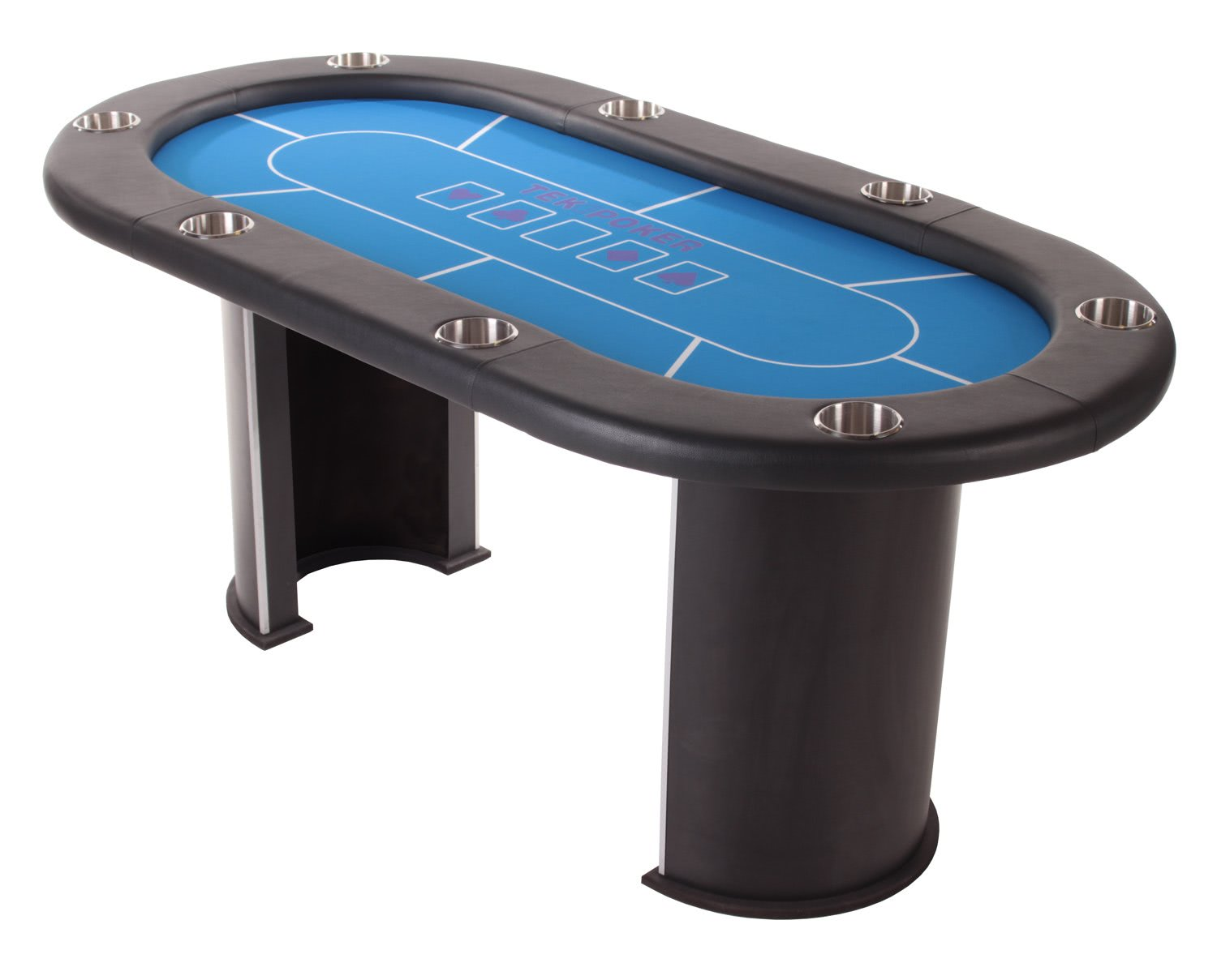 Tekscore Pro Curved Leg Poker Table Liberty Games