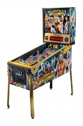 Stern WWE Wrestlemania LE Pinball Machine