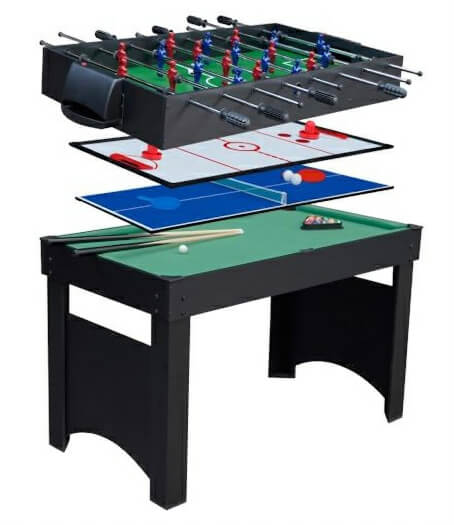 Gamesson Jupiter 4 foot 4-In-1 Multi Games Table