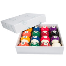 Aramith 2'' Spots & Stripes Pool Ball Set