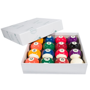 Aramith 2-Inch Red & Yellow Pool Ball Set