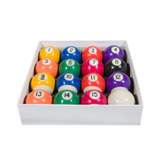 Competition 2'' Spots & Stripes Coin Op Pool Ball Set