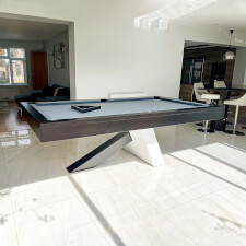 The Equilibrium Slate Bed Pool Table