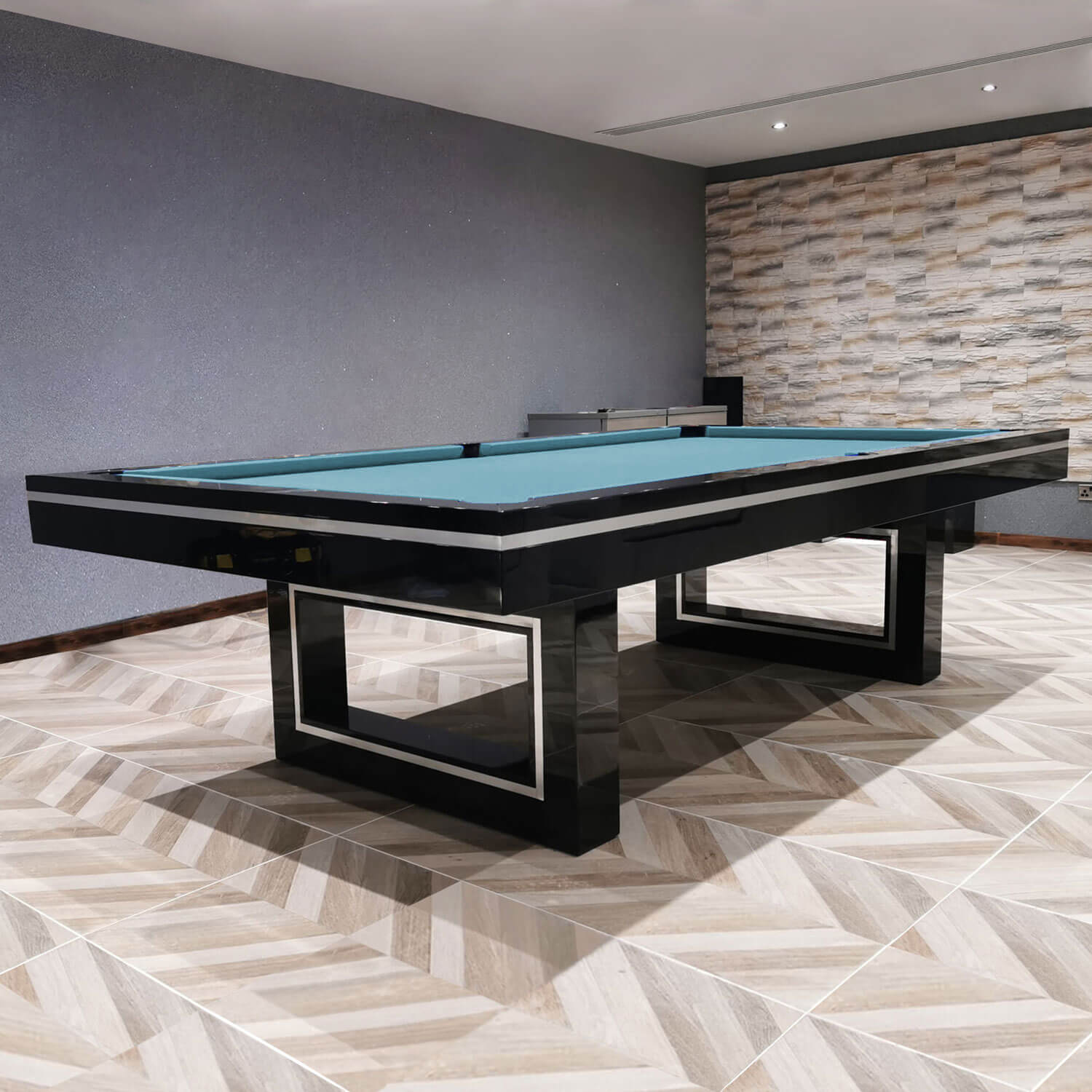 The Monaco Slate Bed Pool Table Liberty Games