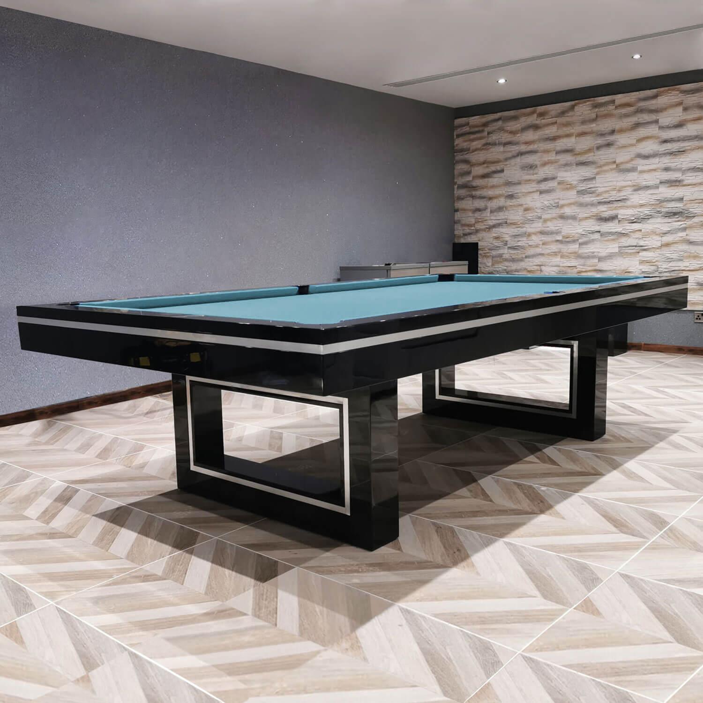 The Monaco Slate Bed Pool Table Liberty Games