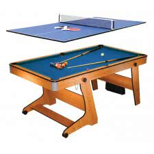 BCE 6ft Vertical Folding Home Pool Table (FP-6TT)