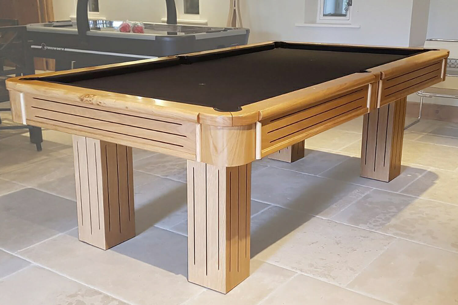 The Rincao Slate Bed Pool Table Liberty Games
