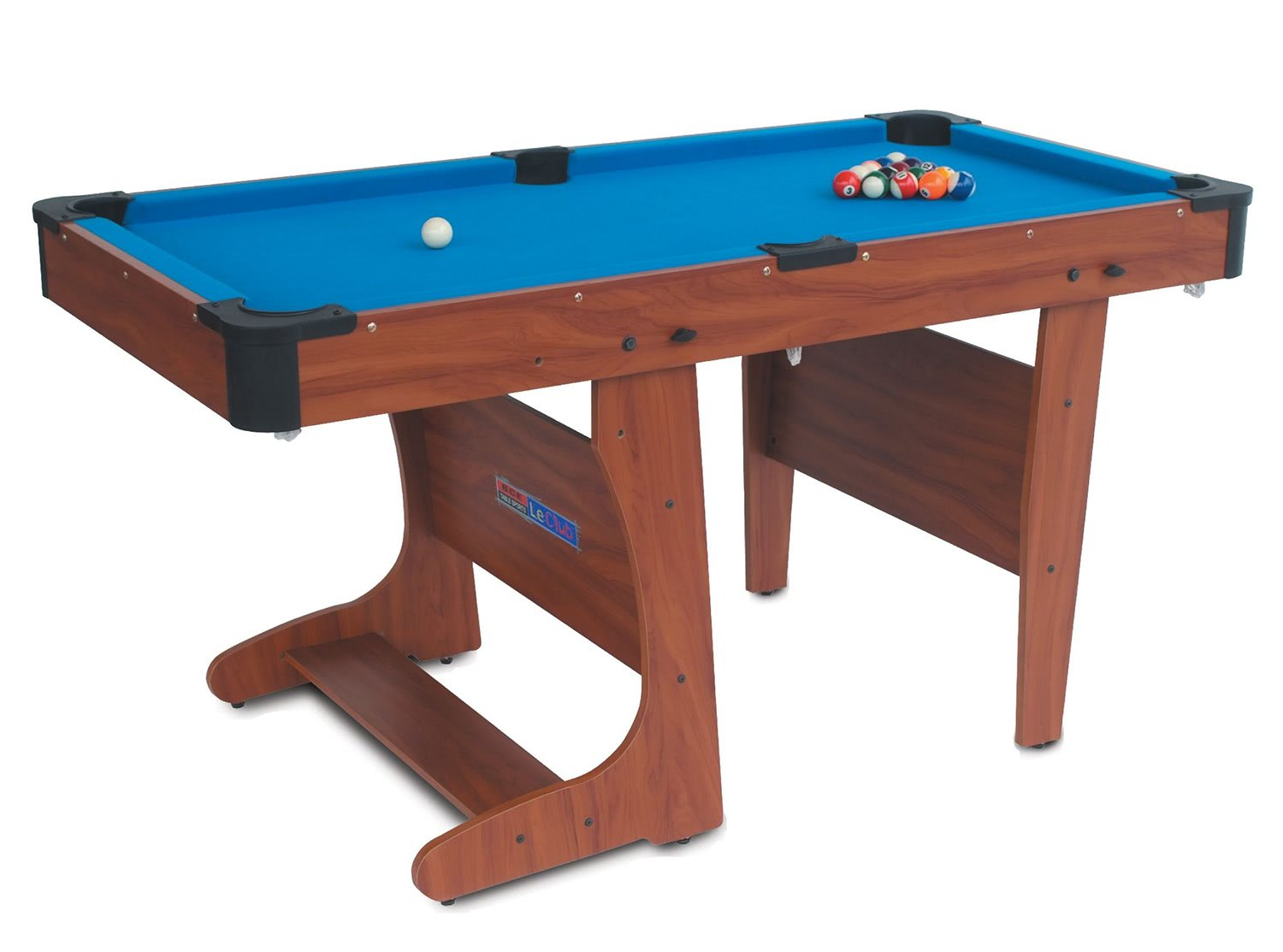 Bce clifton folding pool table liberty games for Table retractable