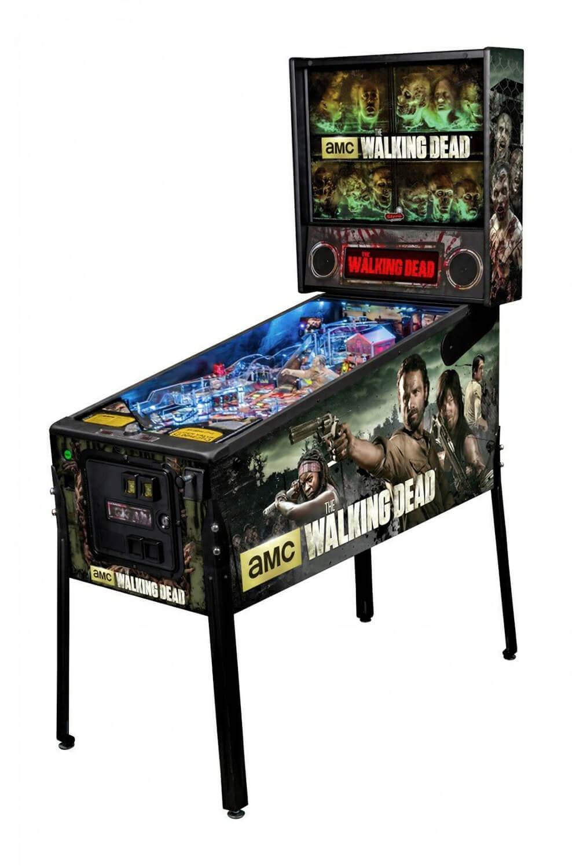 Stern The Walking Dead Premium Pinball Machine Liberty Games