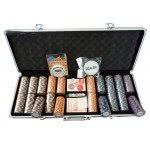 Monte Carlo 500pc 14 Gram Numbered Poker Chip Set