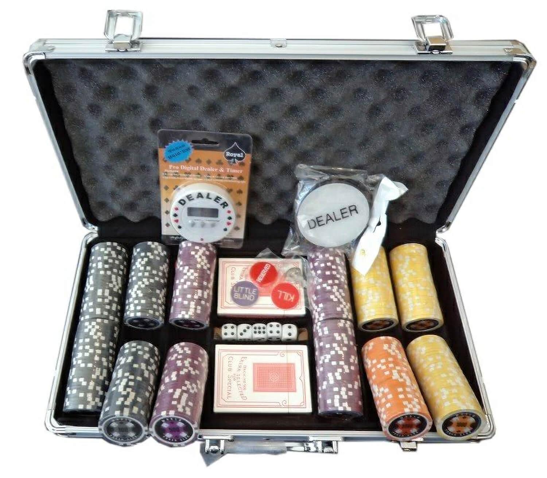 Poker chips 300 pc 7 slot live casino