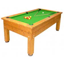 Managers Special - Evergreen Outdoor Slate Bed Pool Table