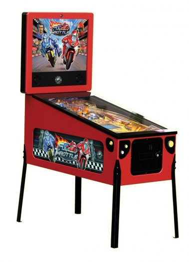 Full Throttle Limited Edition Pinball Machine
