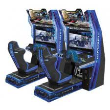 Sega Storm Racer Twin Arcade Machine